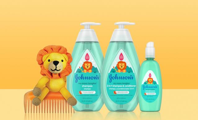 johnsons no more tangles toddler products collection