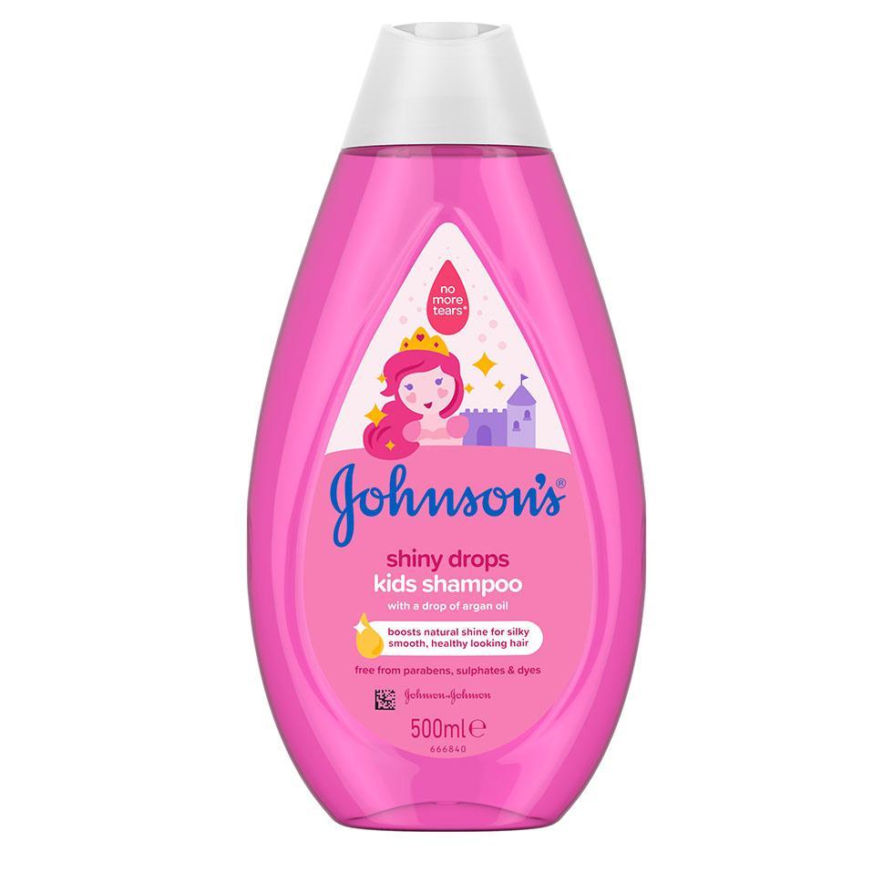 Johnson's® șampon păr sclipitor